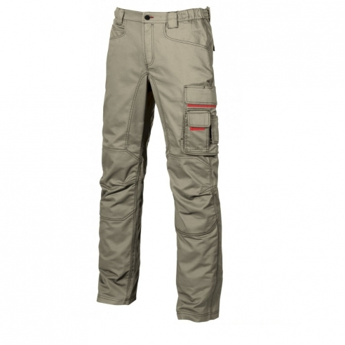 ffeec4d346cc Pantalone multitasca, tasca portautensili, tasca portabadge, 2 tasche  posteriori con chiusura a velcro; porta martello regolabile; vita con  elastico.