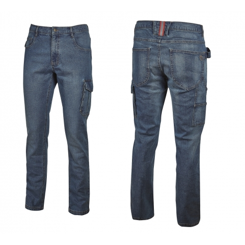 Jeans Da Lavoro Elasticizzato U Power...