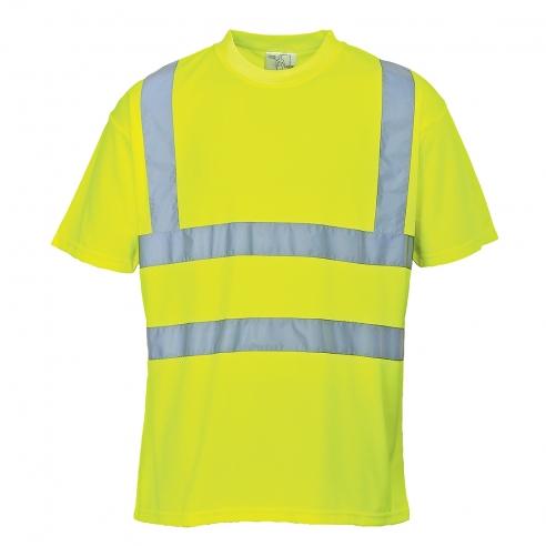 T-Shirt Alta Visibilita' Gialla