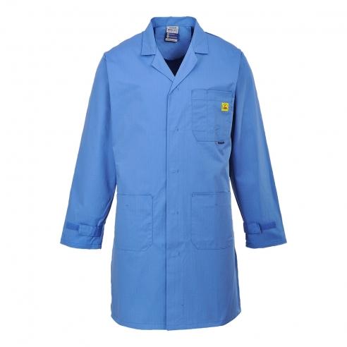 Camice Da Lavoro Blu Antistatico Esd