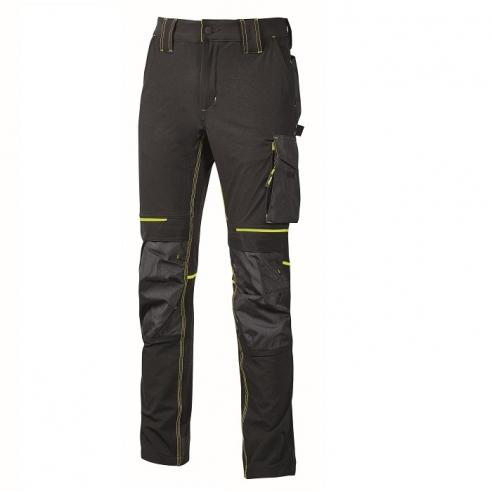 Pantalone Stretch UPower Atom Scuro...