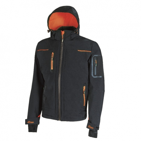 Giacca UPower Space in Softshell Blue...