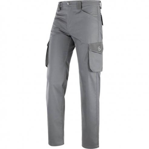 Pantalone da Lavoro Estivo Grigio Convoy