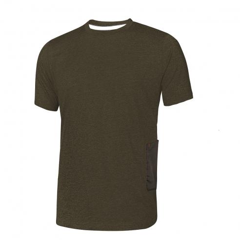 T-Shirt da Lavoro U Power Road - Verde