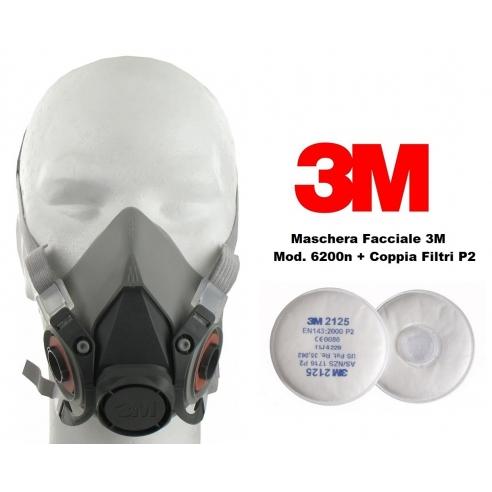 maschera 3m vapori